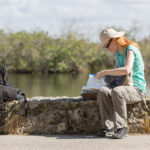 Geocache am Anhinga-Trail