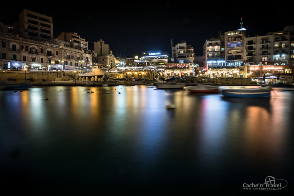 Spinola Bay in St. Julian, Malta