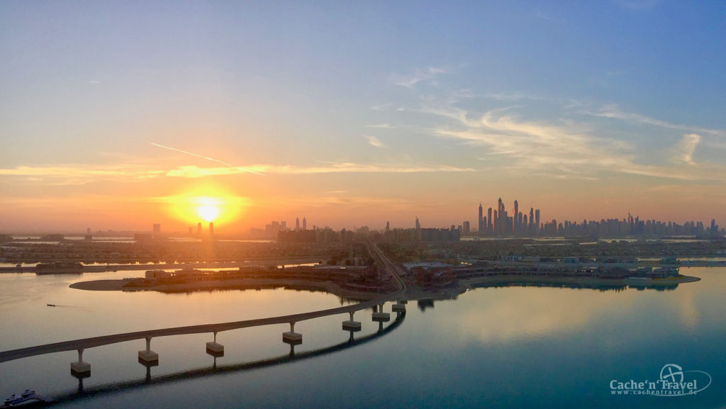 Sonnenaufgang in Dubai - 2015, iPhone 6