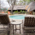 Pool in der Kwa-Mbili-Lodge