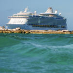 Freedom of the Seas vor Coco Cay